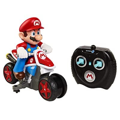 Nintendo Super Mario Kart 8 Mario Anti-Gravity RC Motorcycle 2.4Ghz: Toys & Games