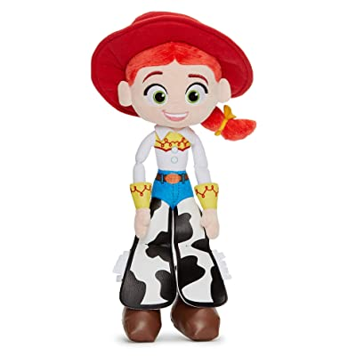 Disney 37269 Pixar Toy Story 4 Jessie Soft Doll in Gift Box 25 cm, Red: Toys & Games