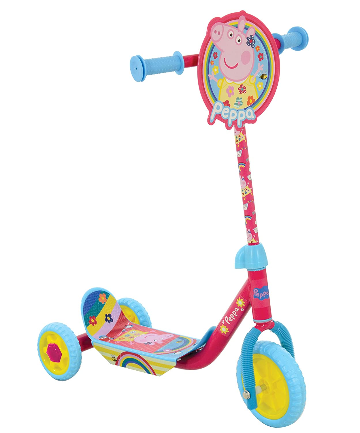 MV Sports Peppa Pig Tri-Scooter M14703: Amazon.es: Juguetes ...