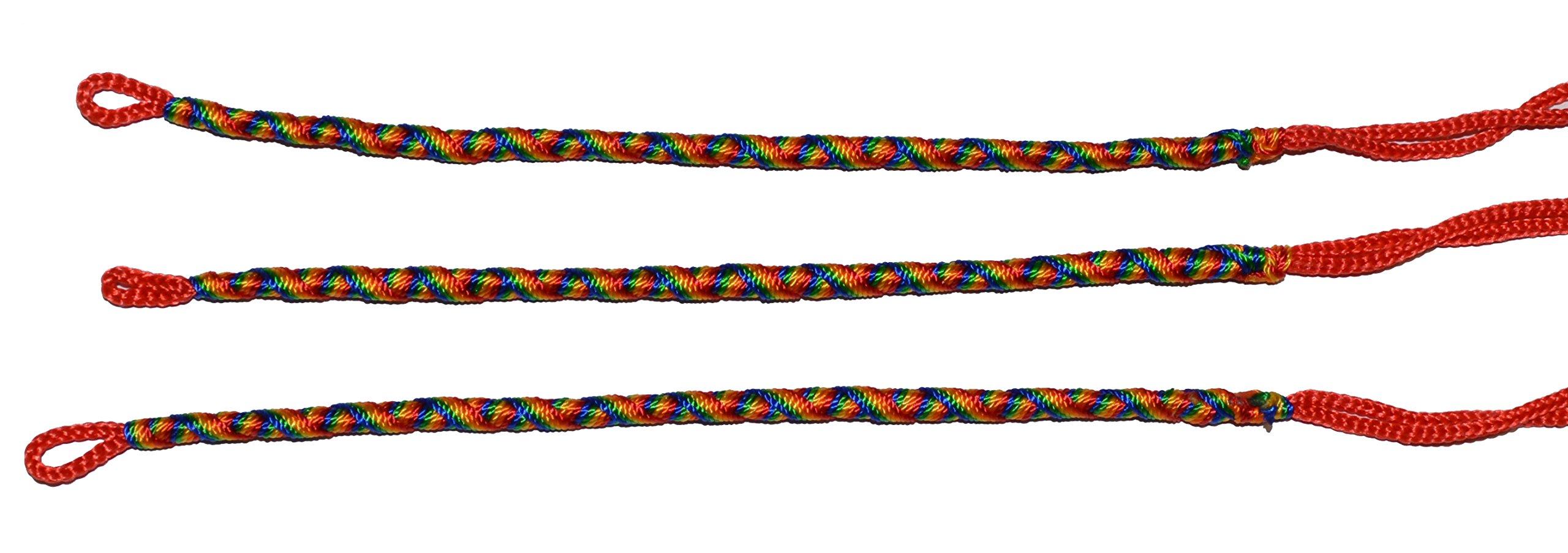 Rainbow Friendship Bracelets LOT 100 MIX From Peru Wholesale GAY Lesbian Pride by Handmade In Peru (Image #4)