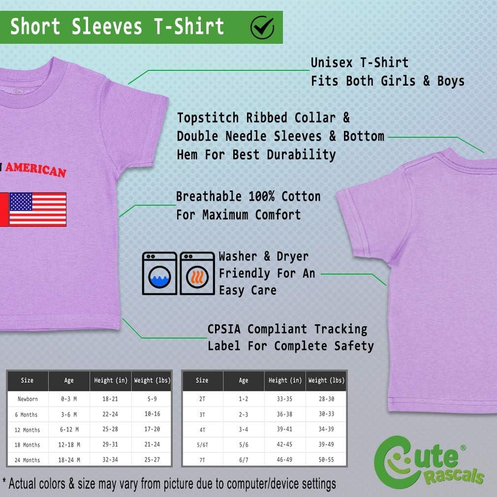 Custom Baby /& Toddler T-Shirt Belgian American Cotton Boy Girl Clothes