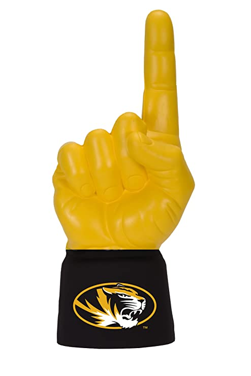 6645ebbc43ff Amazon.com   NCAA Missouri Tigers Licensed Foam Finger with Jersey ...