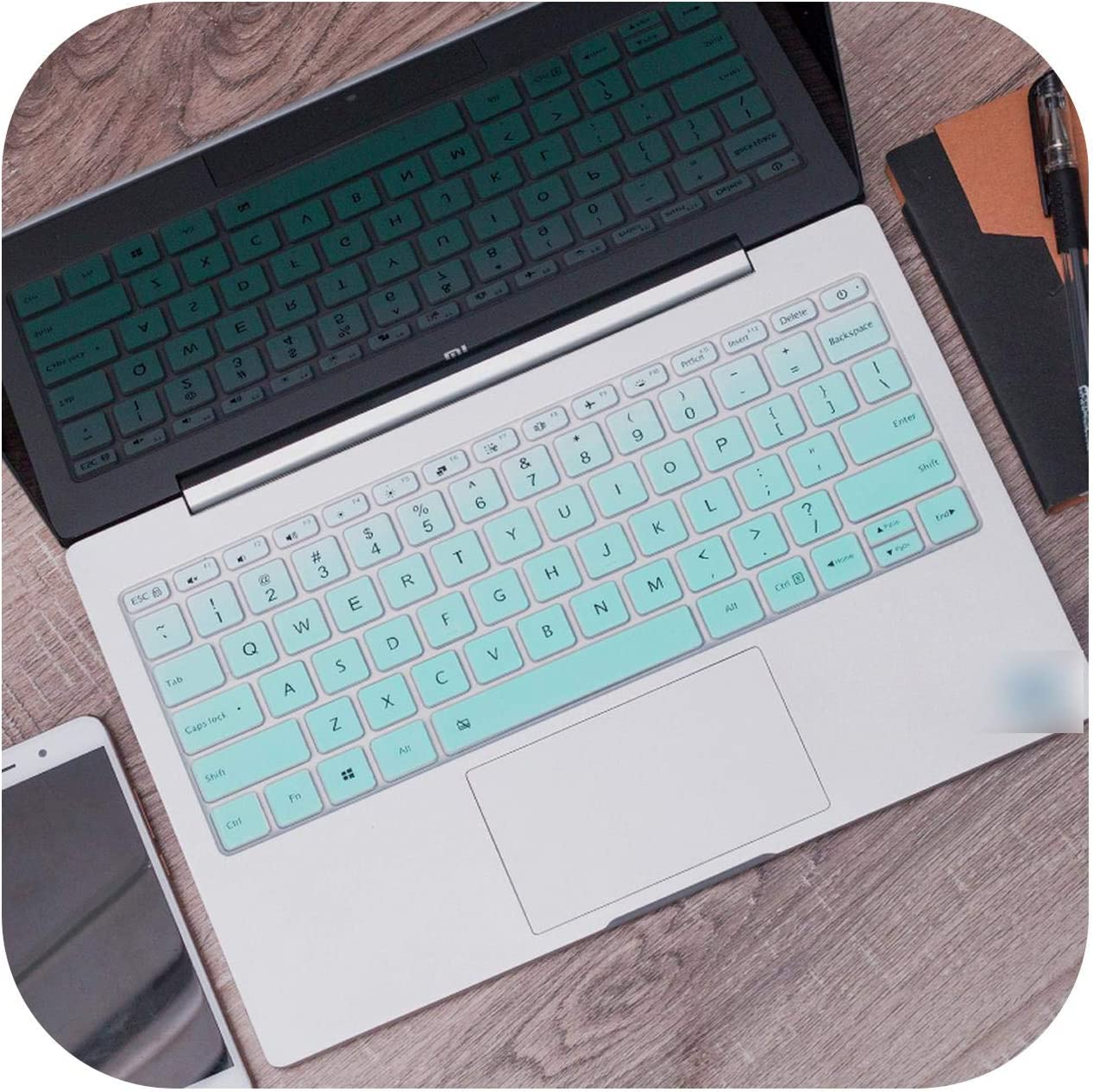 Silicone Laptop Keyboard Cover Protector for Lenovo Yoga 530 530S 530 14Ikb Yoga 730 730S 530-Blue