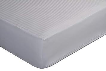 Pikolin home - Funda de colchón cutí. 100% Algodón. Laterales adaptables, Cama 105 - 105 x 190/200 cm (Todas las medidas): Amazon.es: Hogar