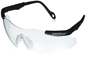 Smith & Wesson SW152FFCI Safety Glasses, Fog-Free Clear Lens