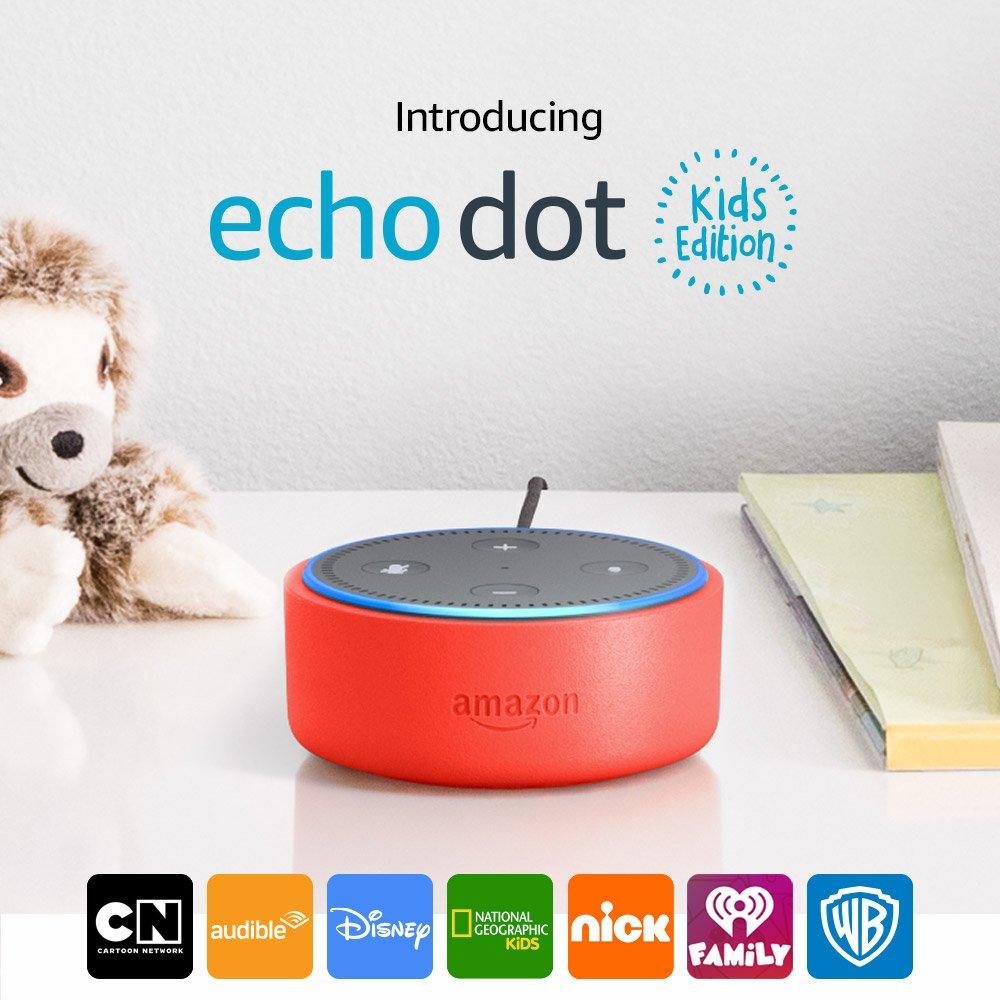 Amazon Echo Dot Kids Edition O...