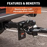 CURT 48190 Pintle Hitch with 2-Inch Trailer Hitch