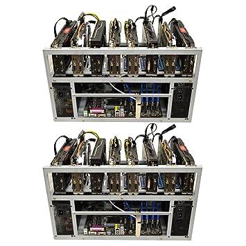 2-Pack SPARTAN V2 Open Air GPU Mining Rig Frame Computer Case Chassis -  Ethereum ETH Zcash ZEC Monero XMR