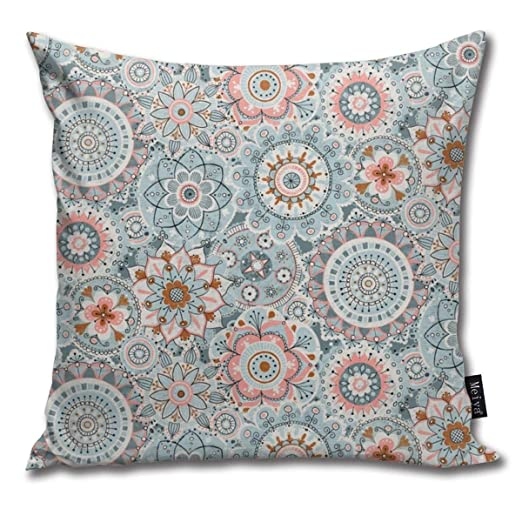 Zara-Decor Boho Mandala Home Funda de cojín Decorativa para ...