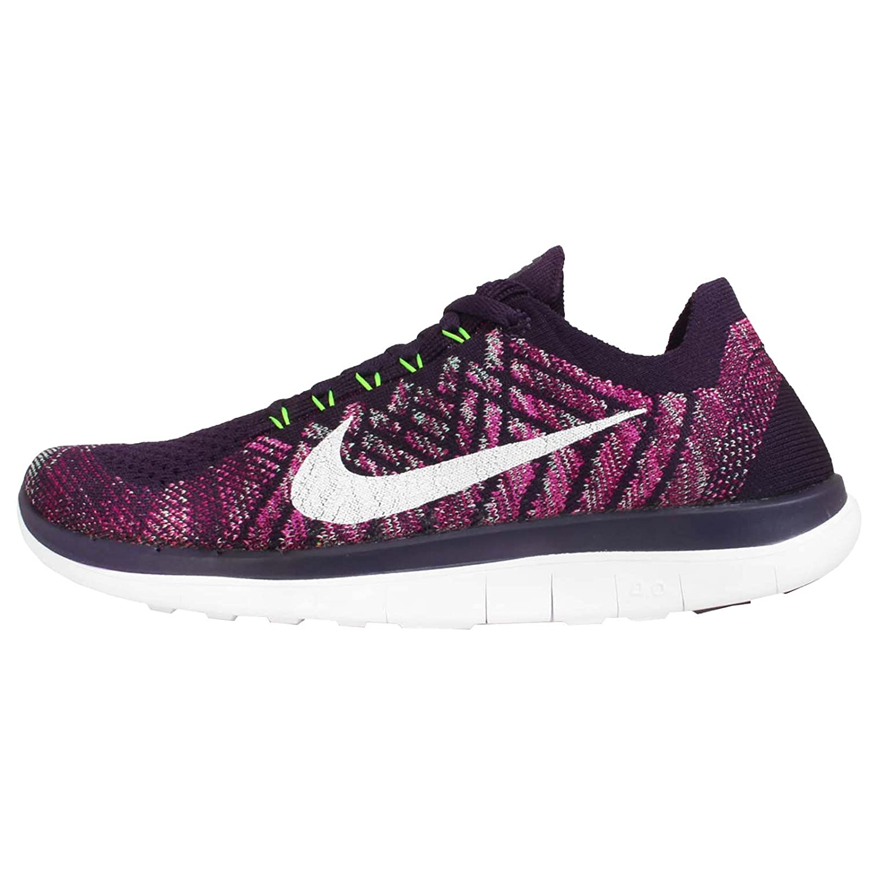 Nike Free 4.0 Flyknit Para Mujer Zapatillas Nike En Blanco Y Negro
