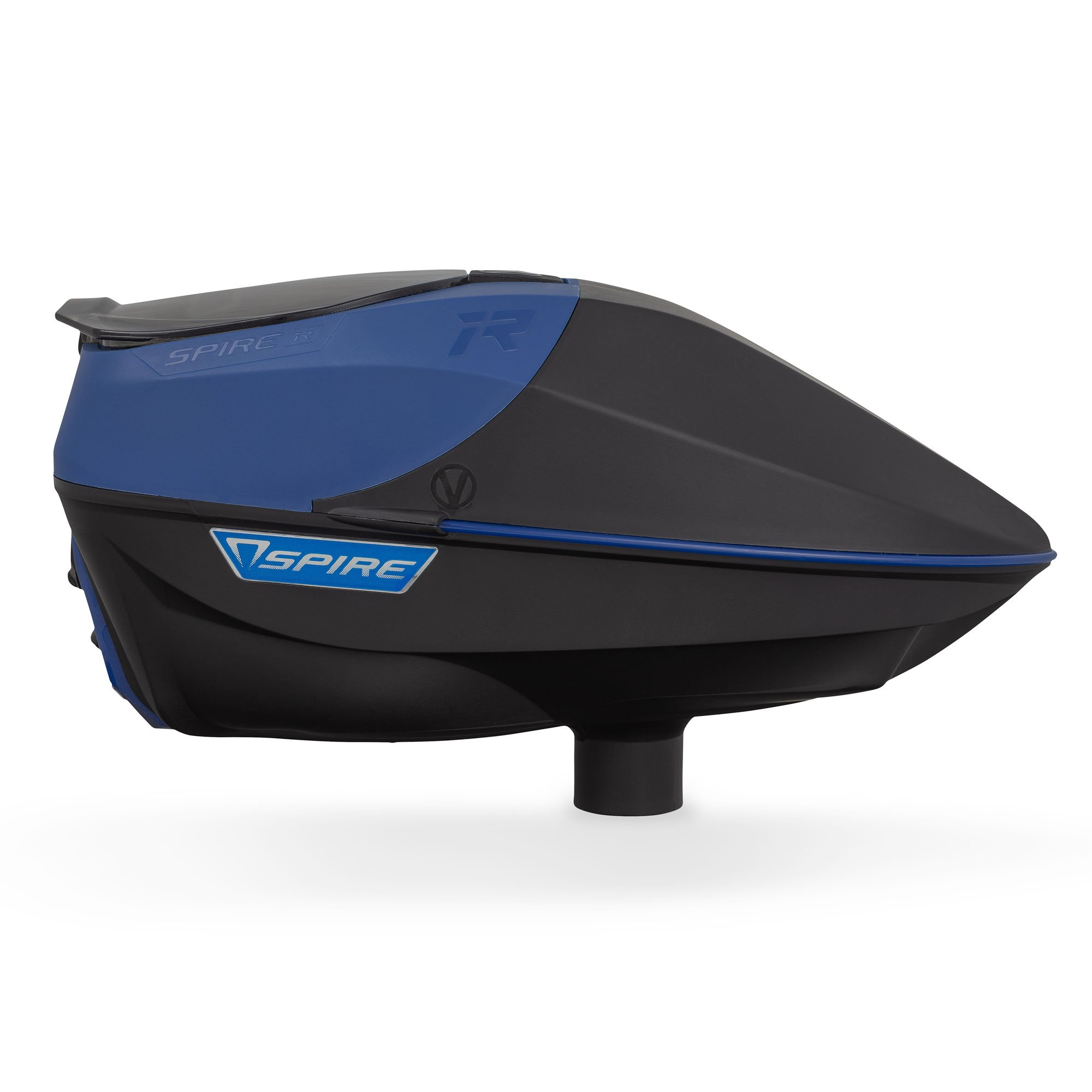 Virtue Spire Electronic Paintball Loaders/Hoppers (IR Blue/Black) by Virtue Paintball