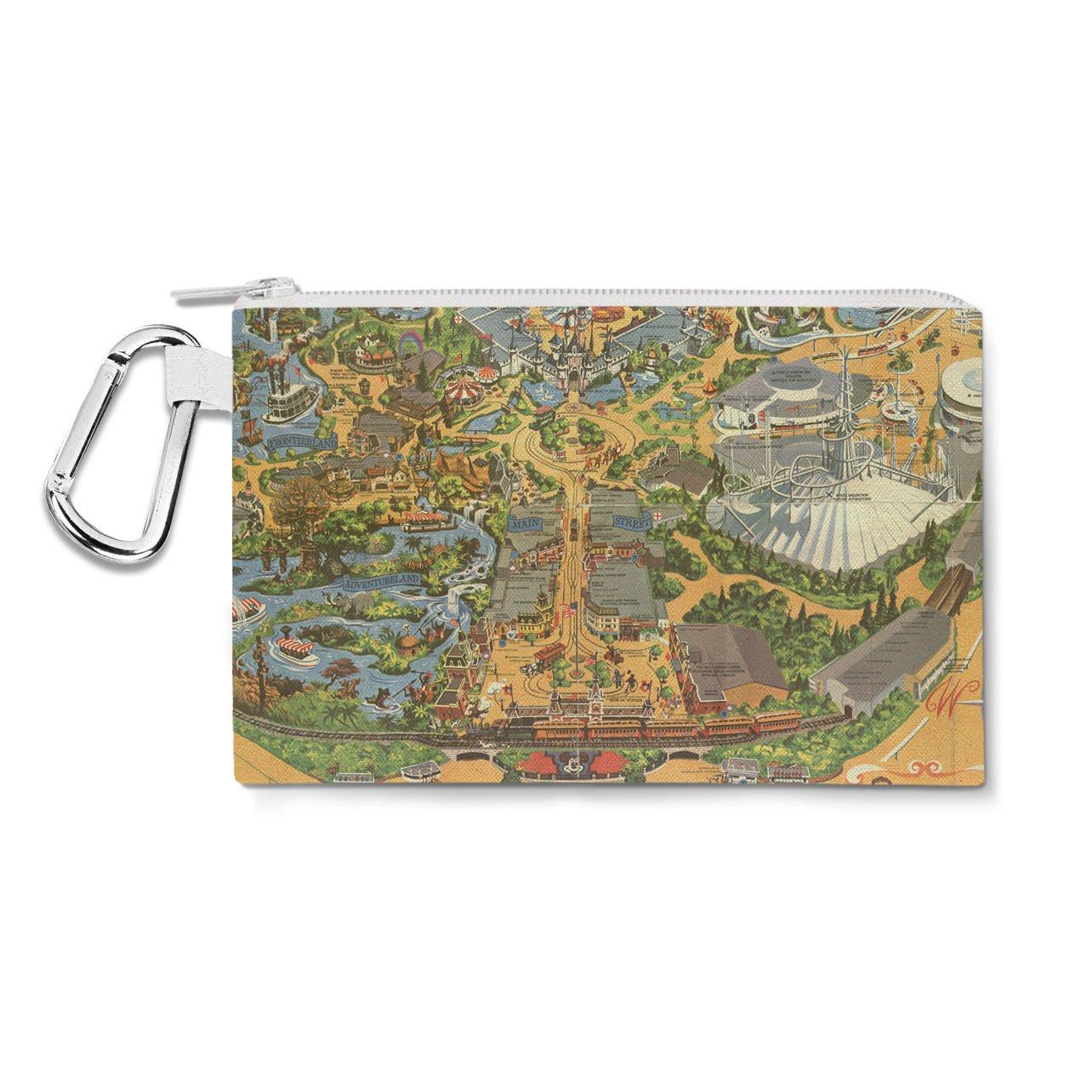 新しいスタイル DisneylandヴィンテージマップキャンバスZipポーチ Pouch – マルチ目的鉛筆ケースバッグin 6サイズ Large Small Canvas Pouch 10x7 inch 10x7 イエロー B013VHWT5M Small Canvas Pouch 7x5 inch Small Canvas Pouch 7x5 inch, 花の資材屋e-Annasakka:544ac037 --- arianechie.dominiotemporario.com