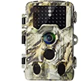 AlfaView Trail Camera 16MP 1080P HD Game & Hunting Camera with 120°Wide Angle Lens No Glow Night Vision Up to 75ft 0.2s…