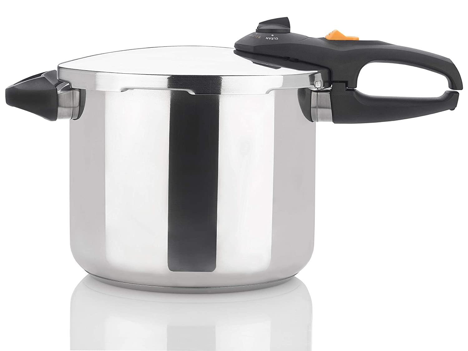 Zavor DUO 10 Quart Multi-Setting Pressure Cooker and Canner with Accessories - Polished Stainless Steel (ZCWDU04)