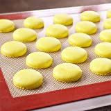 Silicone Baking Mat - Half Sheet Baking Macaron