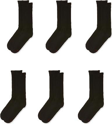 Details about  /Lot of 2 Hanes Premium Men/'s Socks 3 Pair Each Pkg Black Purple NEW 6 total