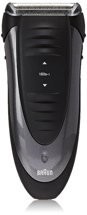 Braun Smart Control 190s-1 Cordless Shaver 1 Count Shaving, Waxing & Beard Care at amazon