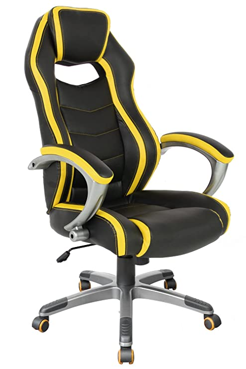Astounding Proht Gaming Computer Racing Style Office Chair For Executive Gamers Adults Teenager 05176A Ergonomic High Back Comfortable Swivel Chair With Andrewgaddart Wooden Chair Designs For Living Room Andrewgaddartcom