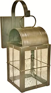 product image for Brass Traditions 131-P SHDB Small Wall Lantern 100 Series Profile Bracket, Dark Brass Finish 100 Series Profile Bracket Wall Lantern
