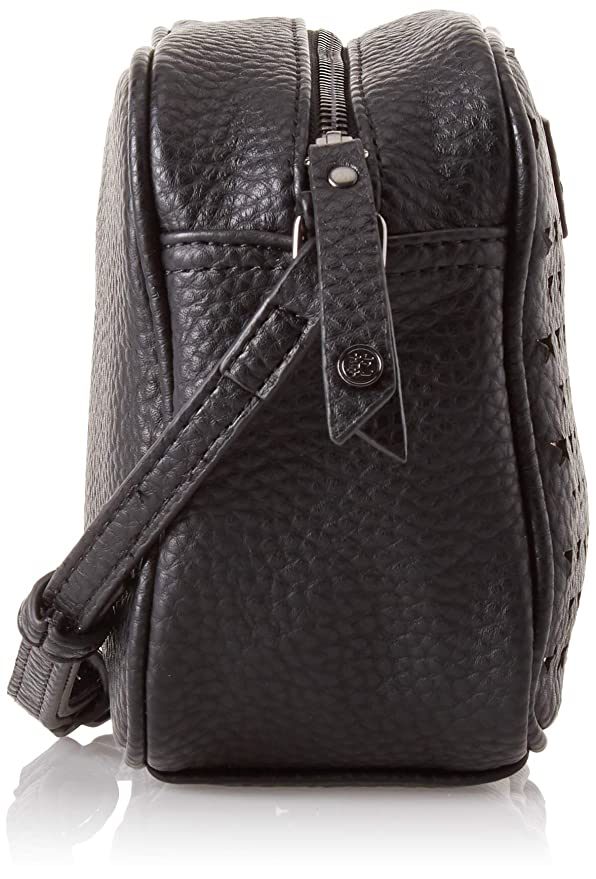 bc19fd8f7 Superdry Delwen Star Perf Cross Body, Women's Cross-Body Bag, Black (Black/Rose  Gold), 21x15x8 cm (W x H L): Amazon.co.uk: Shoes & Bags