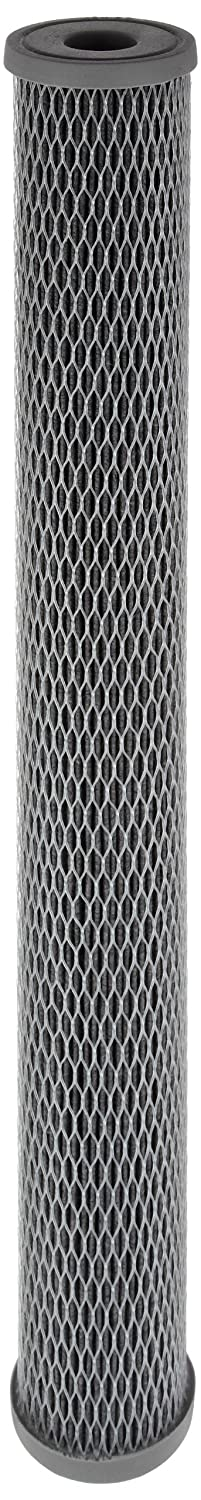 Pentek NCP 20 Pleated Carbon Impregnated Polyester Filter Cartridge 20 x 2 1 2 10 Microns
