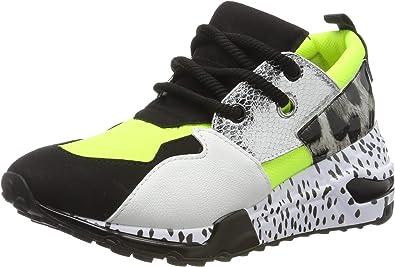 Cliff Sneaker Trainers, (NEON Green
