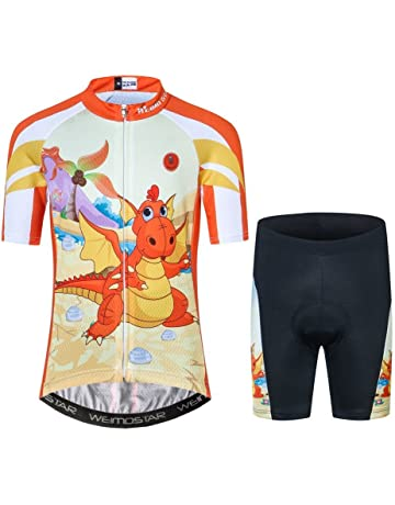 1b9f17592 ... 3D Padded Shorts for Mountain Bike Road Racing Outdoor. Cycling Jersey  Kids