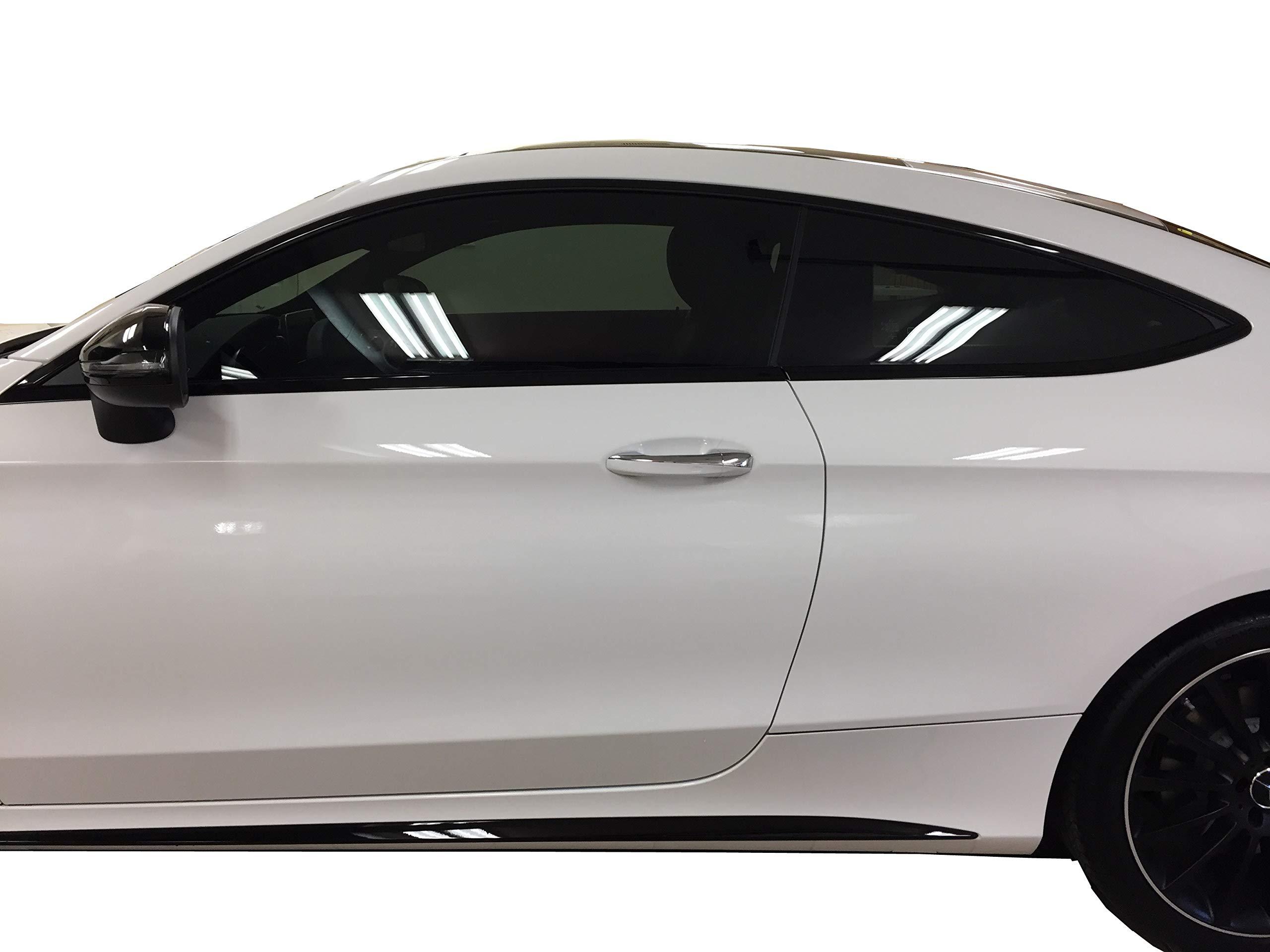 LEXEN 2Ply Premium Carbon 20'' X 100FT Roll Window Tint Film Auto Car (5% Limo (Darkest Shade)) by LEXEN (Image #5)