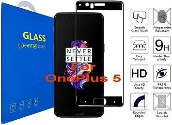 OnePlus 5 A5000 - Curvo 3D Cristal Templado Protector de Pantalla ...