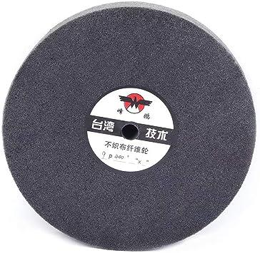 "2Pcs 9P 5/"" Fiber Polishing Biffing Wheel Nylon Abrasive Disc for Steel 5//8/"" Bore"