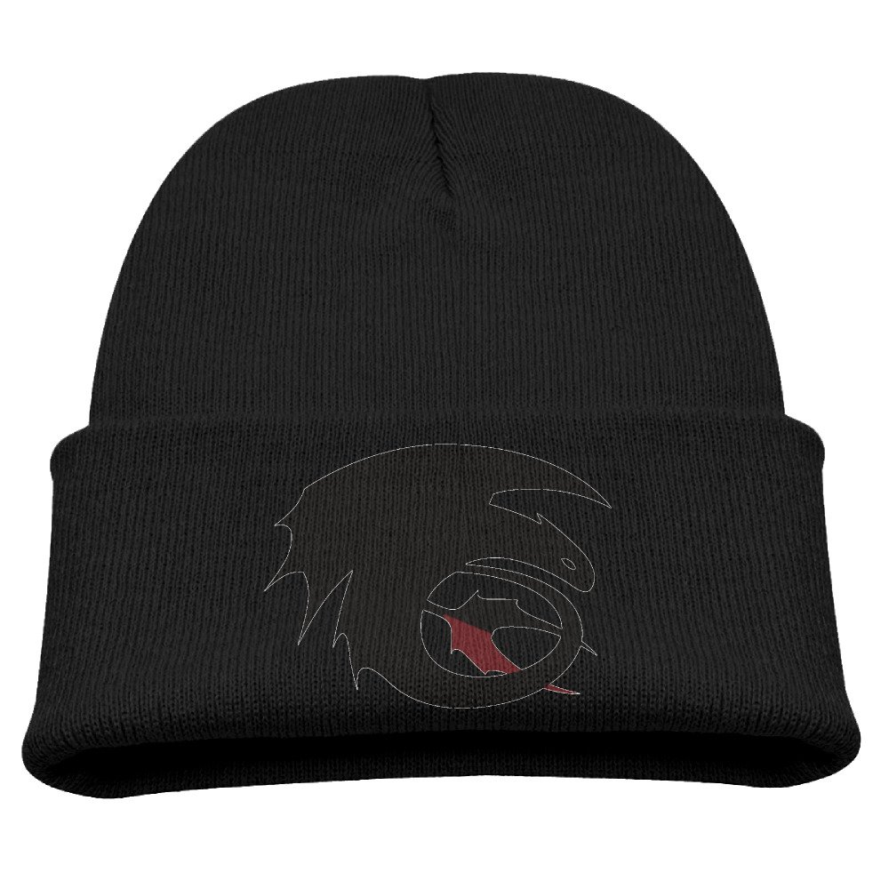 Kid's Beanie Hat How To Train Your Dragon Toothless Skull Cap In 4 Colors
