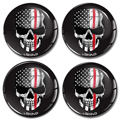 4 x 70mm 3D Stickers for Wheel Center Caps A 3270: Automotive