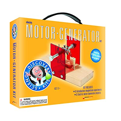 Dowling Magnets Science Discovery Kit: Electric Motor/Generator: Industrial & Scientific