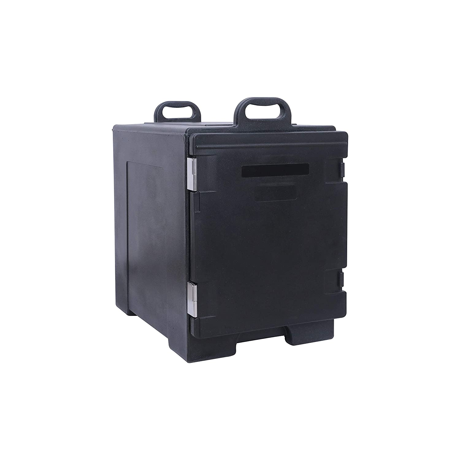 Front-Loading Insulated Food Pan Carrier, 81 Quart Capacity, 5 Full-Size Pan,Food-Grade LLDPE Material, Portable Food Warmer Transporter