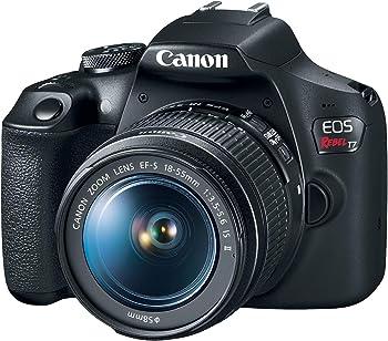 Refurb Canon EOS Rebel T7 24.1MP FHD DSLR Camera w/18-55mm Lens