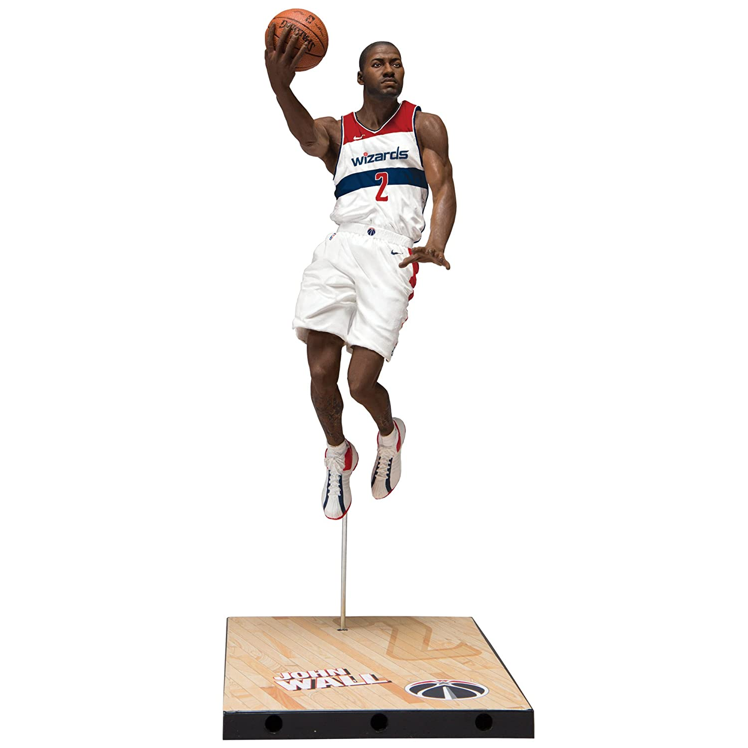 75ff4a4dbf70 Buy McFarlane Toys NBA Series 31 John Wall Washington Wizards Action Figure  Online at Low Prices in India - Amazon.in
