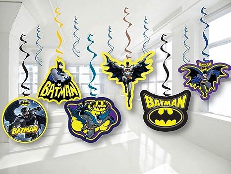 Amazon.com: Batman Decoración para fiesta de cumpleaños ...