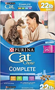 Purina Cat Chow Complete Dry Cat Food - 22 lb. Bag