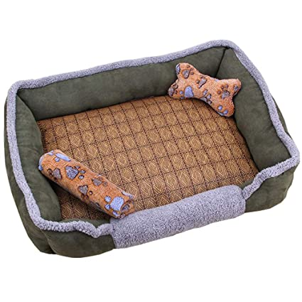 Lyuyu Cama para Perros, Cama extraíble y Lavable para Mascotas Colchón Four Seasons Sofá Universal