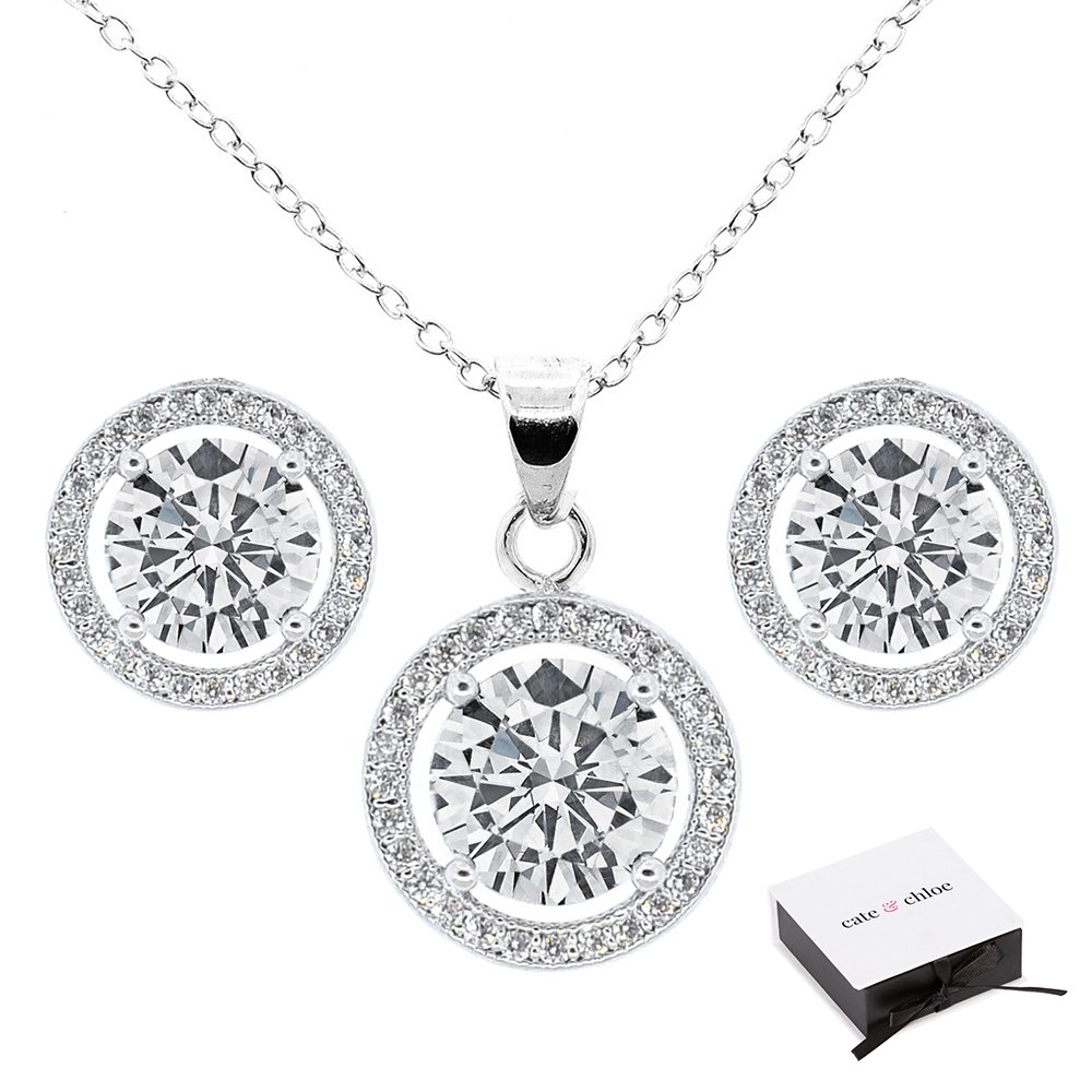 Amazon.com  Cate   Chloe Ariel Jewelry Set d08c0e692