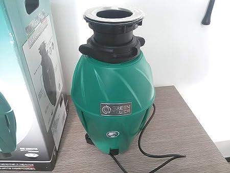 INSINKERATOR Cibo Cucina Unità di smaltimento dei rifiuti con interruttore pulsante ad aria modello 46A//S