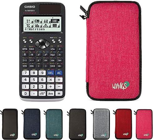 Fachbuch Schutztasche erweiterte Garantie Casio FX-83GTX Pink