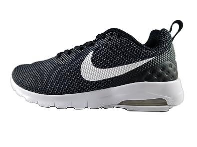 NIKE Women's Air Max Motion LW SE Shoe Black/White-White-Anthracite 6