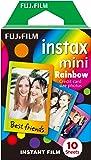 Instax Rainbow  mini film, 10 shot pack - Rainbow