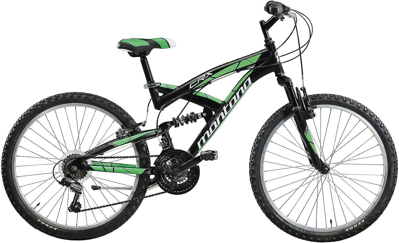 CRX Bicicleta MTB Full Suspension 24