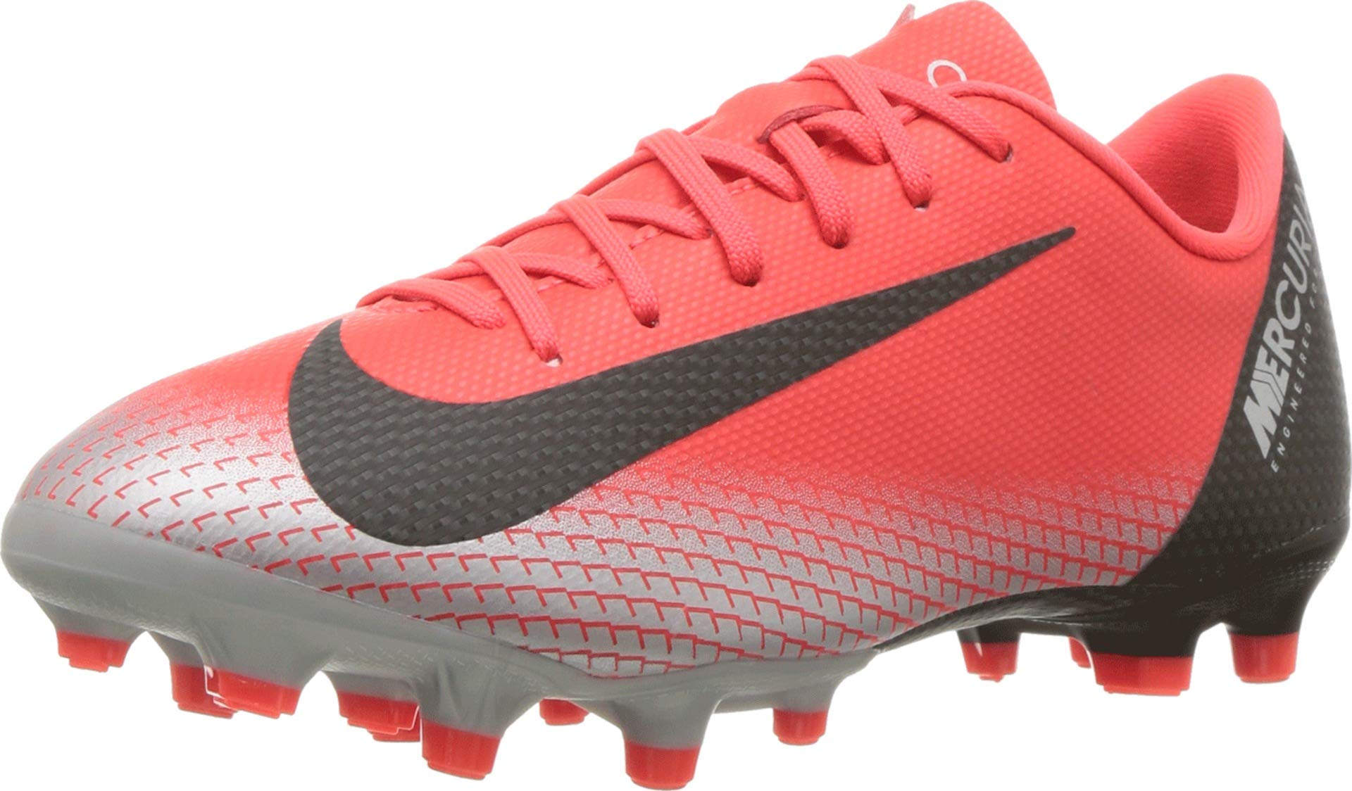 NIKE Youth Soccer Jr. Mercurial Vapor XII Academy Multi Ground Cleats (5 M US Big Kid)
