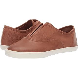 FRYE Women's Mindy Slip On Sneaker Cognac 6 M US