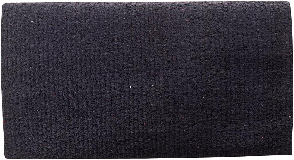 Weaver Leather Solid New Zealand Saddle Blanket 35-1640-BK