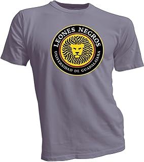 C.U. de Guadalajara Leones Negros Liga MX Mexico Futbol Soccer T Shirt New grey