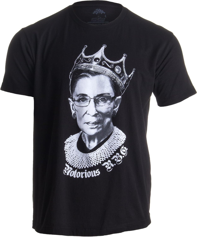 26046583b948 Notorious R.B.G. Funny Progressive, Liberal Ruth Bader Ginsburg Unisex T- Shirt